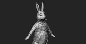 Cel Shaded White Rabbit 1
